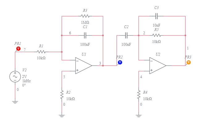 low-frequency inverting differentiator