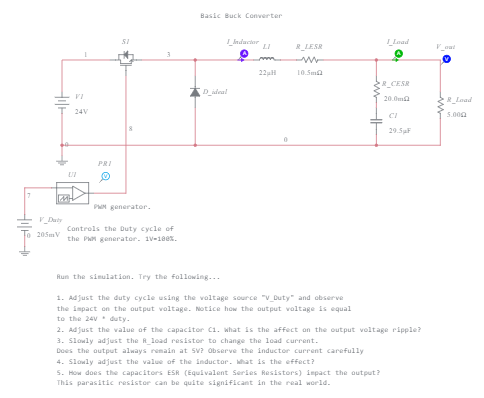 Preview of Simple Buck Converter