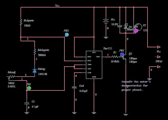 datasheet servo motor